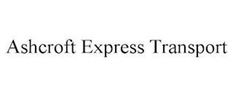 ASHCROFT EXPRESS TRANSPORT