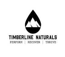 TIMBERLINE NATURALS PERFORM RECOVER THRIVE