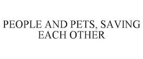 PEOPLE AND PETS, SAVING EACH OTHER