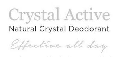 CRYSTAL ACTIVE NATURAL CRYSTAL DEODORANT EFFECTIVE ALL DAY