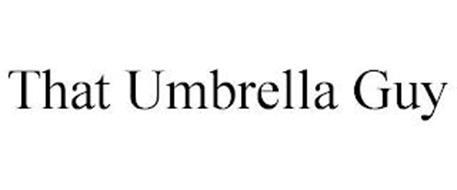 THAT UMBRELLA GUY