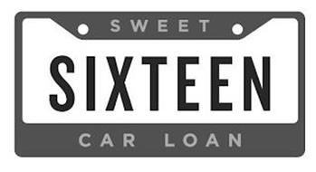 SWEET SIXTEEN CAR LOAN