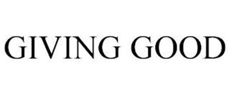 GIVING GOOD