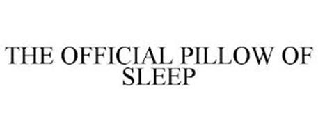 THE OFFICIAL PILLOW OF SLEEP
