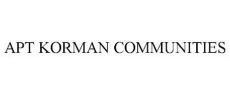 APT KORMAN COMMUNITIES