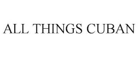 ALL THINGS CUBAN