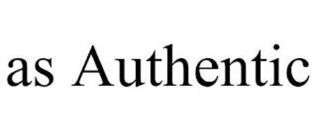 AS AUTHENTIC