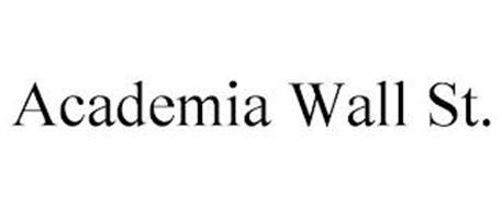 ACADEMIA WALL ST.