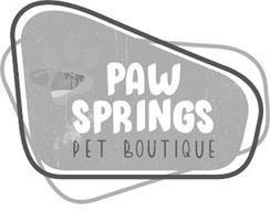 PAW SPRINGS PET BOUTIQUE