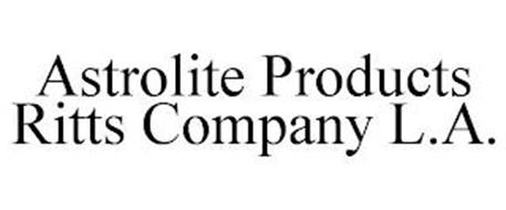 ASTROLITE PRODUCTS RITTS COMPANY L.A.