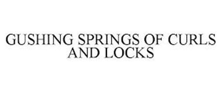 GUSHING SPRINGS OF CURLS AND LOCKS
