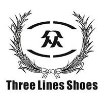 THREE LINES SHOES