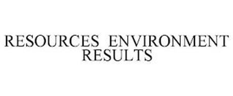 RESOURCES ENVIRONMENT RESULTS