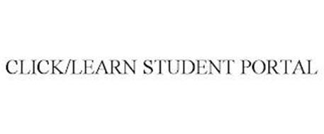 CLICK/LEARN STUDENT PORTAL