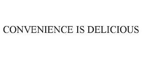 CONVENIENCE IS DELICIOUS