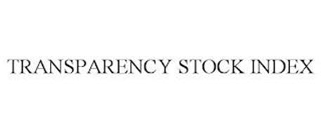 TRANSPARENCY STOCK INDEX