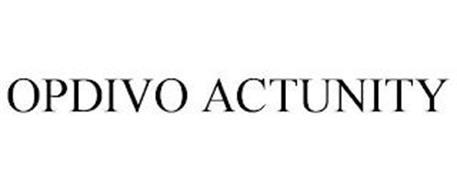 OPDIVO ACTUNITY