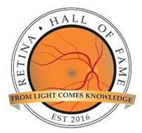 RETINA HALL OF FAME EST 2016 FROM LIGHTCOMES KNOWLEDGE