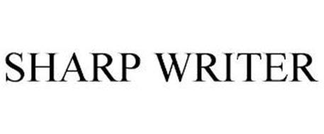 SHARP WRITER