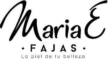 MARIAE FAJAS LA PIEL DE TU BELLEZA