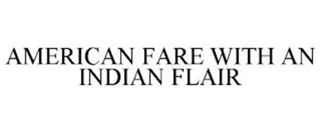 AMERICAN FARE WITH AN INDIAN FLAIR