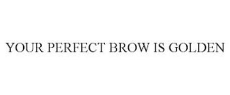 YOUR PERFECT BROW IS GOLDEN