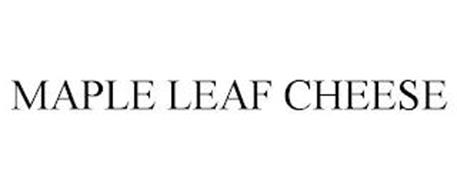 MAPLE LEAF CHEESE