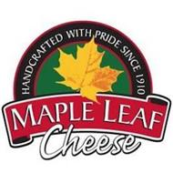 MAPLE LEAF CHEESE HANDCRAFTED WITH PRIDE SINCE1910