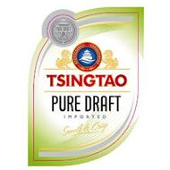 TSINGTAO PURE DRAFT IMPORTED SMOOTH & CRISPY