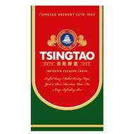 TSINGTAO ESTD 1903 TSINGTAO BREWERY ESTD 1903 IMPORTED PREMIUM LAGER CRAFTED USING MALTED BARLEY, HOPS, YEAST & PURE MOUNTAIN WATER FOR A CRISP REFRESHING BEER