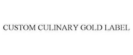 CUSTOM CULINARY GOLD LABEL
