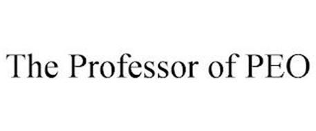 THE PROFESSOR OF PEO