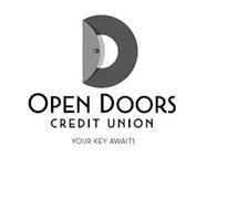 OPEN DOORS CREDIT UNION YOUR KEY AWAITS