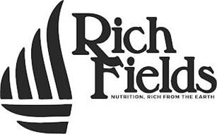 RICH FIELDS NUTRITION, RICH FROM THE EARTH