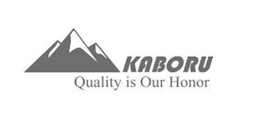 KABORU QUALITY IS OUR HONOR