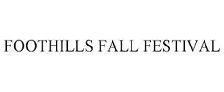 FOOTHILLS FALL FESTIVAL
