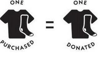 ONE PURCHASED = ONE DONATED