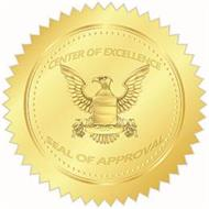 CENTER OF EXCELLENCE SEAL OF APPROVAL
