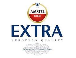 A 1870 AMSTEL BIER EXTRA EUROPEAN QUALITY BORN IN AMSTERDAM
