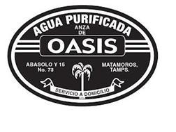 AGUA PURIFICADA ANZA DE OASIS ABASOLO Y15 NO. 73 MATAMOROS, TAMPS. SERVICIO A DOMICILIO