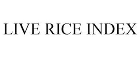 LIVE RICE INDEX