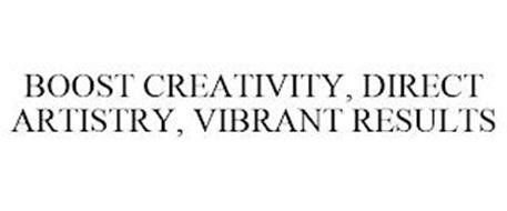 BOOST CREATIVITY, DIRECT ARTISTRY, VIBRANT RESULTS