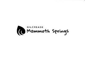 GILCREASE MAMMOTH SPRINGS