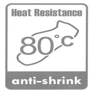 HEAT RESISTANCE ANTI-SHRINK 80°C