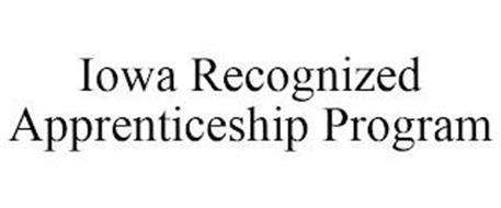 IOWA RECOGNIZED APPRENTICESHIP PROGRAM