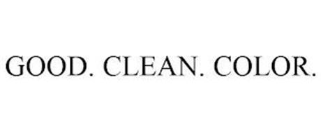 GOOD. CLEAN. COLOR.