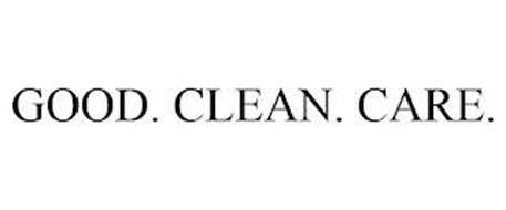 GOOD. CLEAN. CARE.