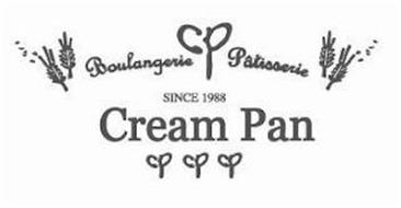CP BOULANGERIE PATISSERIE SINCE 1988 CREAM PAN