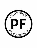 CERTIFIED PF PALEO FRIENDLY