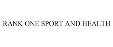 RANK ONE SPORT AND HEALTH
